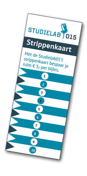 Met de StudielabStrippenkaart bespaar je ruim 5 Euro per bijles